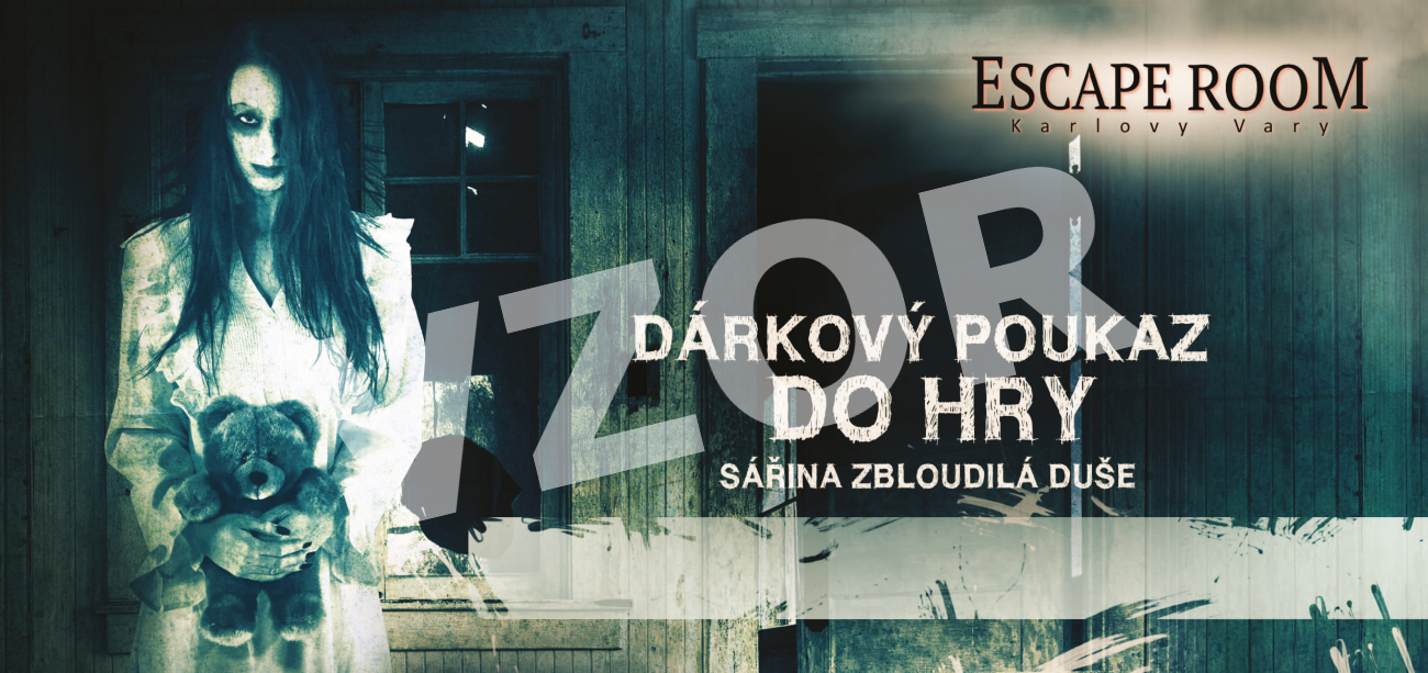 Escape Room Karlovy Vary: Voucher Sára